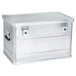 Alubox, Inhalt 70 Liter, LxBxH 595x397x382 mm, Gewicht 3,2 kg