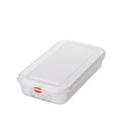 GN-Vorratsdose/Frischhaltebox GN1/3 mit Deckel, LxBxH 325 x 176 x 65 mm, 2,5 Liter