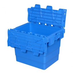 "ALC Klappdeckelbox ""Profi"", verplombbar, LxBxH 400x300x320 mm, 28 Liter"