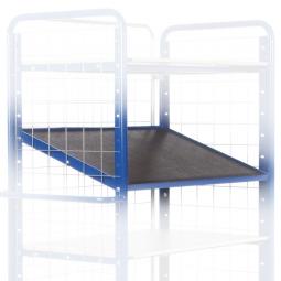 Einlegeboden für Ladefläche 1200 x 800 mm, mit Winkeleisenrahmen, Tragkraft 150 kg