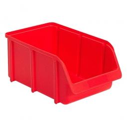 Sichtbox SOFTLINE SL 4, rot, Inhalt 8,8 Liter, LxBxH 335/295x205x155 mm, Gewicht 390 g