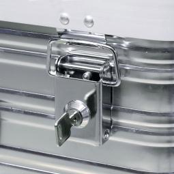 Alubox-Einsteck-Zylinderschlösser mit je 2 Schlüsseln, gleichschließend