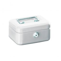 Geldkassette, weiß, BxTxH 150x110x75 mm