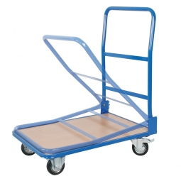[B-Ware] - Klappbügel-Wagen, LxBxH 735x480x900 mm, Tragkraft 150 kg, OK Ladefläche 165 mm
