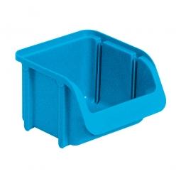 Sichtbox SOFTLINE SL 1, blau, Inhalt 0,6 Liter, LxBxH 115/87x100x75 mm, Gewicht 45 g