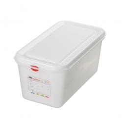 GN-Vorratsdose/Frischhaltebox GN1/3 mit Deckel, LxBxH 325 x 176 x 150 mm, 6 Liter