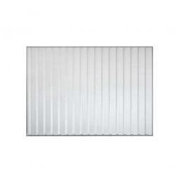 1x Trapezblech-Rückwand für Überdachungssystem, Breite 2870 mm