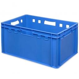 E3-Fleischkasten, LxBxH 600 x 400 x 300 mm, PE-HD, 60 Liter, blau