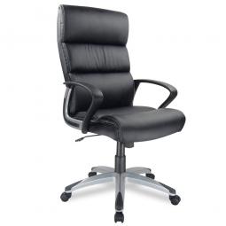 """Chefsessel """"Hawaii"""", schwarz, stufenlose Relax-Wippmechanik und Design-Armlehnen"""