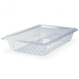 Abtropfeinsatz für Lebensmittel-Behälter, glasklar, LxBxH 660x457x125 mm, Polycarbonat