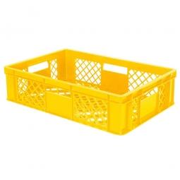 Bäckerkiste, LxBxH 600 x 400 x 150 mm, gelb