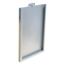 Formularhalter, BxH 220x310 mm, Für Schlitz- und Lochplatten, lichtgrau