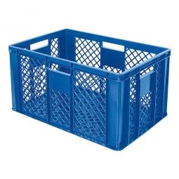 Bäckerkiste, LxBxH 600 x 400 x 320 mm, 63 Liter, blau
