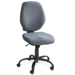 "Bürodrehstuhl ""Perfekt"", Synchronmechanik, extra hohe Rückenlehne 520 mm, grau"
