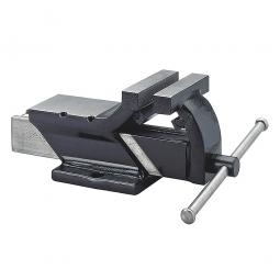 Ganzstahl-Schraubstock, Backenbreite 100 mm, Spannweite 100 mm, Spanntiefe 53 mm, Gewicht 5 kg