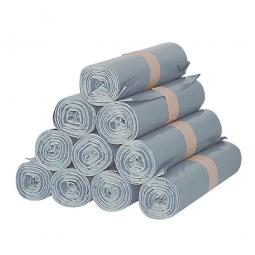 Müllsäcke, grau, 100 Liter, Stärke 20 µm, BxH 780 x 990 mm, VE = 300 Stück