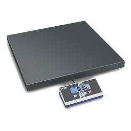 Plattformwaage, Wägeplatte LxBxH 505x505x65 mm, Wägebereich max. 150 kg, Ablesbarkeit 50 g