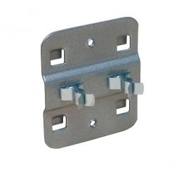 Doppelte Werkzeugklemme, flexibel, Ø 6 mm, VE = 5 Stück