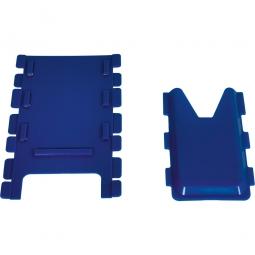 Kartentasche, Zubehör für den Gitterrollwagen, blau