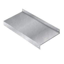 Stahl-Sockelboden 1000 x 600 mm für Kragarmregal, Tragkraft 370 kg