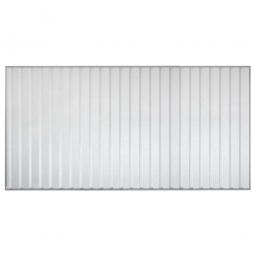 1x Trapezblech-Rückwand für Überdachungssystem, Breite 4300 mm