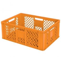 Bäckerkiste, LxBxH 600 x 400 x 240 mm, 43 Liter, orange