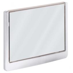 Türschild aus ABS-Kunststoff mit aufklappbarem Sichtfenster, BxH 149 x 105,5 mm, weiß