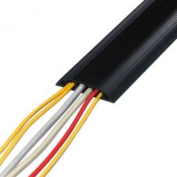 Kabelbrücken, schwarz, HxBxL 15x83x1500 mm