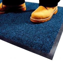 Eingangsmatte, LxB 1500x850 mm, blau, Höhe 9 mm, Mattenrücken aus Nitril-Gummi, waschbar