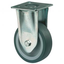 Apparate-Bockrolle, Rad-ØxB 75x23 mm, Tragkraft 50 kg, grau