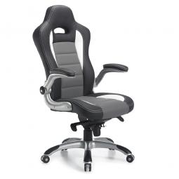 """Chefsessel """"Spa"""" mit gepolsterten Armlehnen, Multiblockmechanik, Sitzhöhe 420-510 mm"""