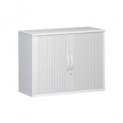 Anstell-Querrollladenschrank PRO 2 Ordnerhöhen, weiß, BxHxT 1000x720x425 mm