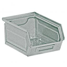 Sichtbox SB7 aus Stahlblech, 3,5 Liter, LxBxH 230/200 x 140 x 130 mm, feuerverzinkt