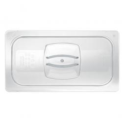 Auflagedeckel für Schale GN1/2, LxB 325x265 mm, Polycarbonat, glasklar