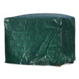 Abdeckhaube für Gitterbox, grün, LxBxH 1250 x 850 x 980 mm, Materialstärke 120 g/qm
