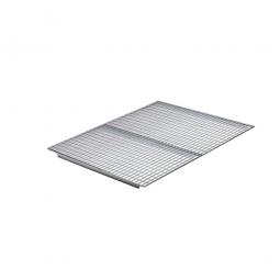 Gitterrost-Böden, feuerverzinkt, LxTxH 1760x1100x20 mm, 2-geteilt, Maschenweite 33x66 mm