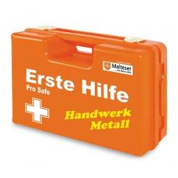 """Erste-Hilfe-Koffer """"Metall"""", Inhalt nach DIN 13157 mit spezifischer Zusatzausstattung"""