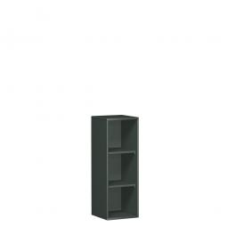 Büroregal PRO, 3 Ordnerhöhen, graphit, BxTxH 800x425x1152 mm