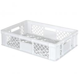 Bäckerkiste, LxBxH 600 x 400 x 150 mm, weiß