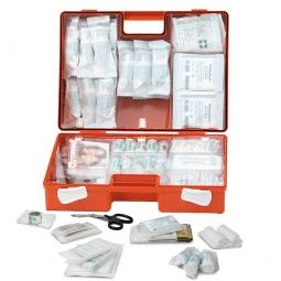 Erste-Hilfe-Koffer mit Inhalt nach DIN 13157, BxTxH 310 x 130 x 210 mm