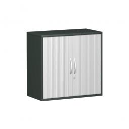 Anstell-Querrollladenschrank PRO 2 Ordnerhöhen, graphit, BxHxT 800x720x425 mm