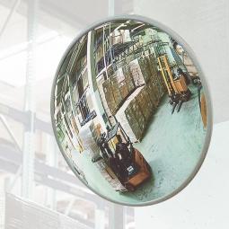 Beobachtungsspiegel, Acrylglas, Ø 500 mm, Für Innen, max. Beobachterabstand 5 m, Gewicht 2,5 kg