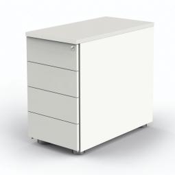 """Anstell-Container """"BUDGET"""" BxT 430x800 mm, höhenverstellbar, weiß/weiß"""