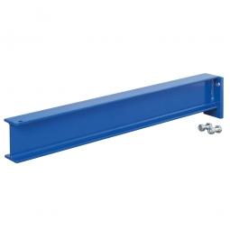 Kragarm, Nutztiefe 600 mm, Tragkraft 450 kg, enzianblau