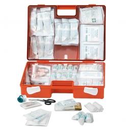 Erste-Hilfe-Koffer mit Inhalt nach DIN 13157, BxTxH 260 x 110 x 170 mm, ABS-Kunststoff