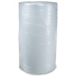 PE-Luftpolsterfolie, extra reißfest, LxB 100 m x 1000 mm, Stärke 50 mµ, 2-Schicht-Folie, transparent