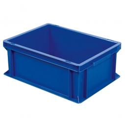 Euro-Geschirrkasten, LxBxH 400x300x170 mm, mit 2 Griffleisten, blau