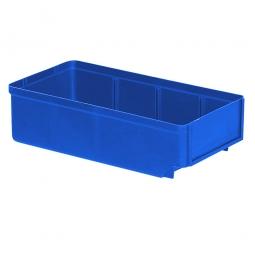 Regalkasten, blau, LxBxH 300x152x83 mm, Polystyrol-Kunststoff (PS), Gewicht 195 g
