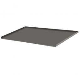 Metall-Abrollrand, 3 seitig, verschraubbar, BxTxH 900x575x20 mm