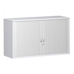 Anstell-Querrollladenschrank PRO 2 Ordnerhöhen, weiß, BxHxT 1600x720x425 mm